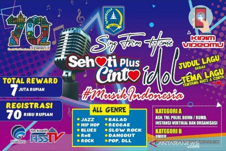 Lomba Sehati Plus Cinta Idol HSS, pendaftarannya dibuka mulai hari ini