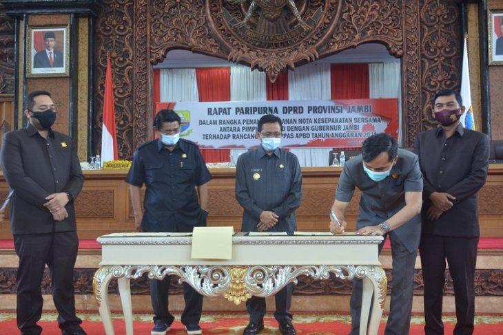 Pimpinan DPRD dan Pjs Gubernur Jambi sepakati KUA-PPAS APBD 2021