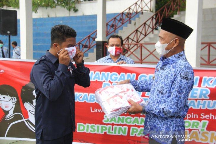 Dinkes Tapin bagikan 26 ribu lebih masker