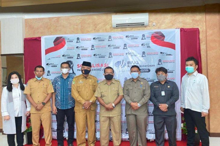Paritrana Award 2020 BPJAMSOSTEK Imbau Pemda Dukung Penuh Implementasi Jaminan Sosial Ketenagakerjaan