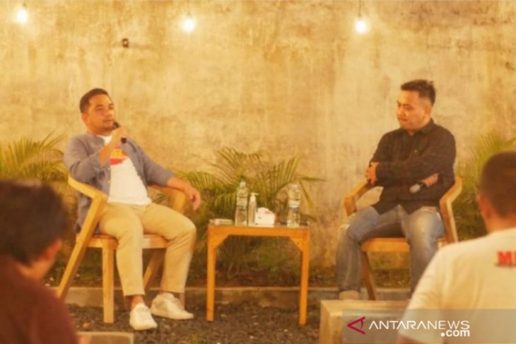 Ngobrol Pintar di Titik Bumi, Anggota DPR RI H Rifqi motivasi pemuda HST