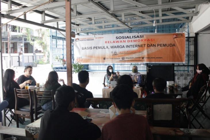 Relasi KPU Medan tingkatkan sosialisasi pilkada kepada