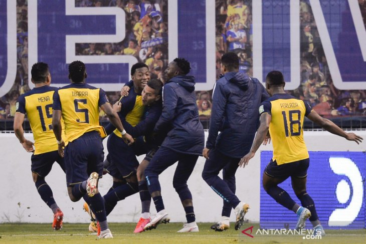 Ekuador pesta gol ke gawang Kolombia