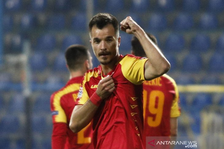 Nations League  - Montenegro amankan tiket setelah tundukkan Siprus 4-0