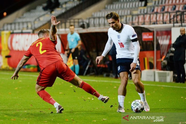 Southgate menjagokan Grealish untuk bersinar bersama timnas Inggris