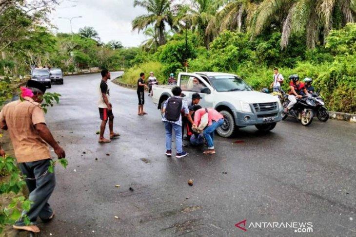 Balapan liar, siswa SMKN 1 Suka Makmue luka parah usai tabrak pot bunga