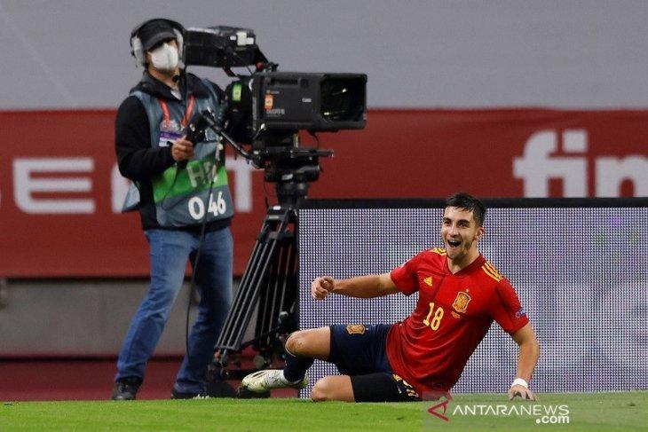 Hasil Nations League : Spanyol bantai Jerman 6-0 melaju ke empat besar