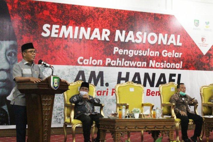 AM Hanafi dari Bengkulu diusulkan jadi pahlawan nasional