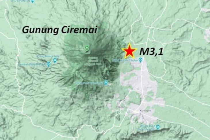 Sesar Ciremai yang sebabkan  gempa Kuningan merupakan sesar aktif