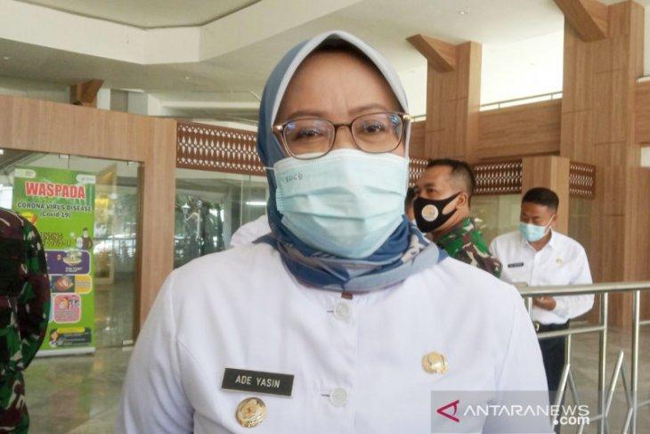 Bupati Bogor jalani isolasi mandiri di pendopo