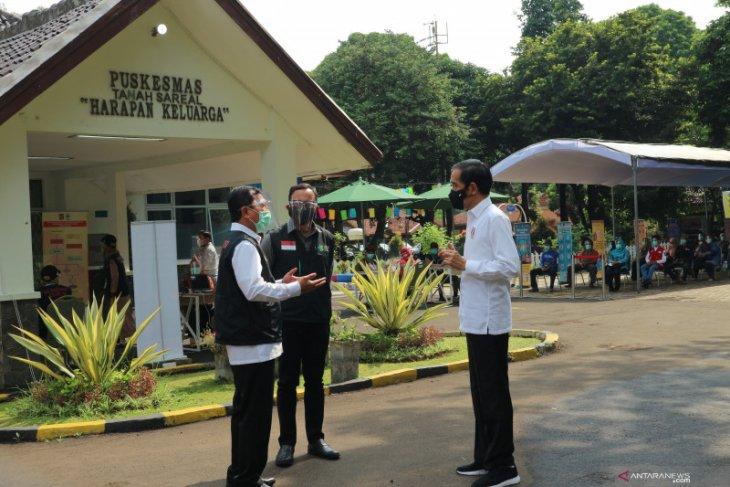 Presiden Jokowi berharap banyak masyarakat ikut vaksinasi COVID-19
