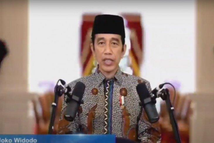 Presiden Jokowi harapkan Muhammadiyah ikut perangi hoaks vaksin COVID-19