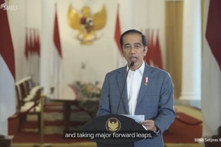 Presiden Jokowi: Kasus aktif COVID 12,7 persen, jauh di bawah rata-rata dunia