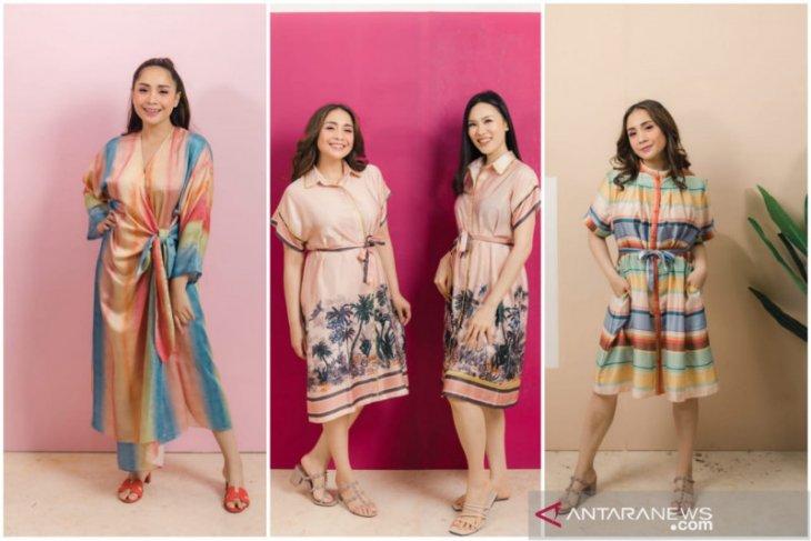 Nagita Slavina-Cynthia Tan luncurkan koleksi baju tidur