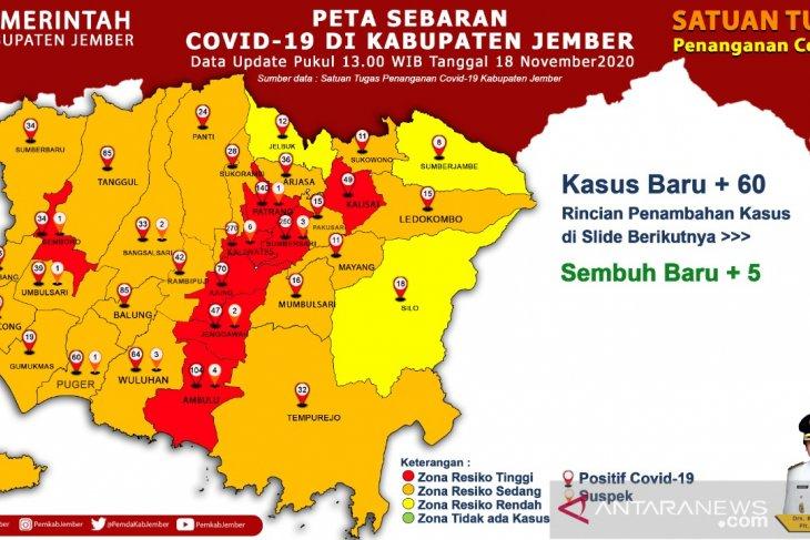 Kampanye pilkada turut sumbang naiknya kasus COVID-19 di Jember