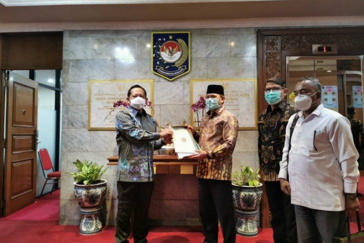 Bupati: Mendagri dukung IPDN Regional di Kota Jantho