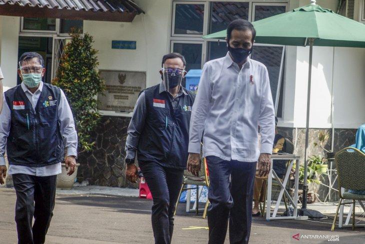 Jokowi scheduled to receive Sinovac's COVID-19 vaccine on Jan 13