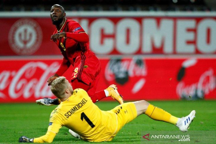 Belgia lolos empat besar Nations League setelah bekap Denmark 4-2