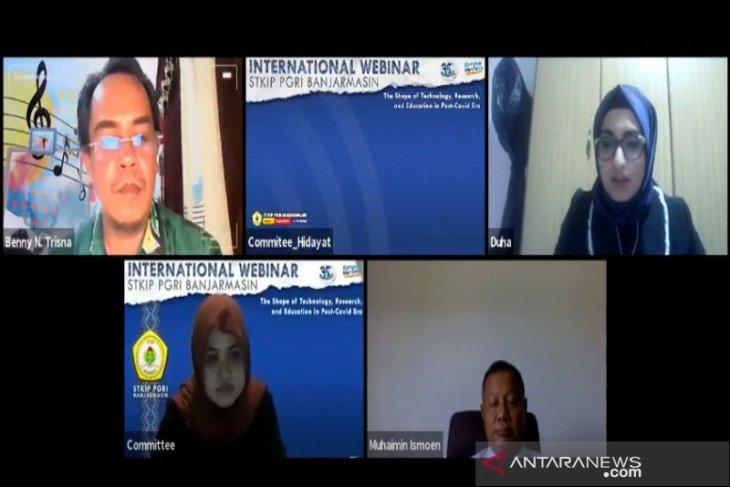 STKIP PGRI Banjarmasin hadirkan pembicara dunia di webinar internasional