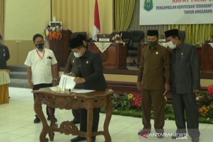 DPRD Setujui Raperda APBD 2021