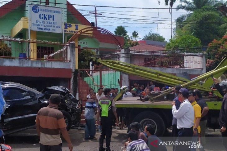 Polres Simalungun rilis kasus lakalantas beruntun, lima meninggal