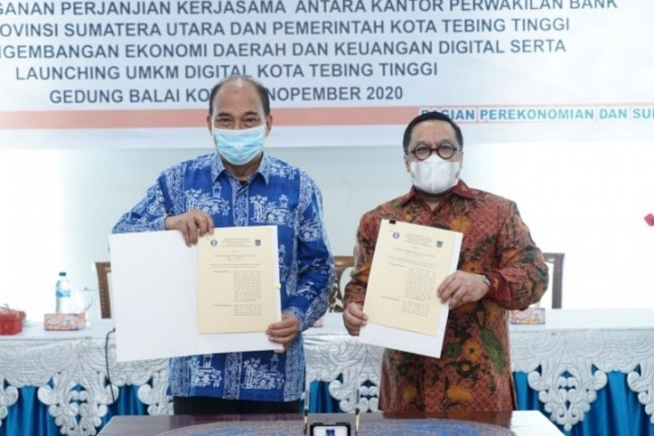 Pemkot Tebing Tinggi MoU dengan Bank Indonesia