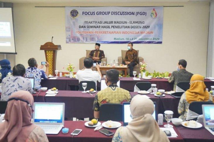 Pemkot Madiun dukung reaktivasi jalur kereta Madiun-Slahung Ponorogo