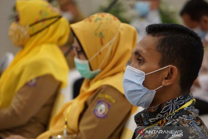 Aparat gabungan di Gorontalo temukan 1.432 pelanggar protokol kesehatan