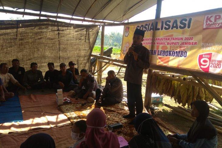 Tingkatkan partisipasi pemilih pilkada, KPU Jember libatkan puluhan relawan demokrasi