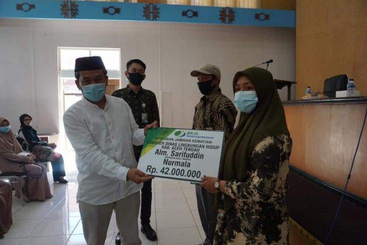 3.033 honorer di Aceh Tengah jadi peserta BPJS Ketenagakerjaan