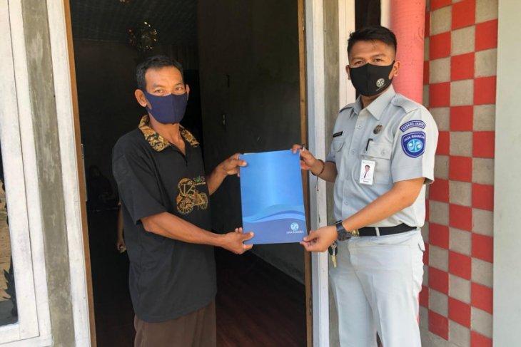 Jasa Raharja Jambi santuni satu keluarga korban kecelakaan maut di Tanjungjabung Barat