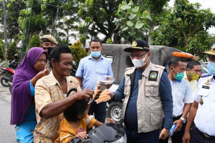 Pemkab Serdang Bedagai terima  bantuan 150 ribu masker