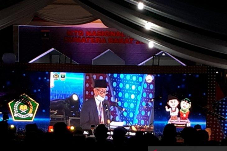 Tuan rumah Sumatera Barat juara umum MTQN 2020