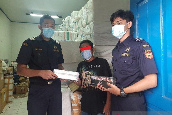 Bea Cukai Jambi amankan truk angkut 60 koli rokok ilegal