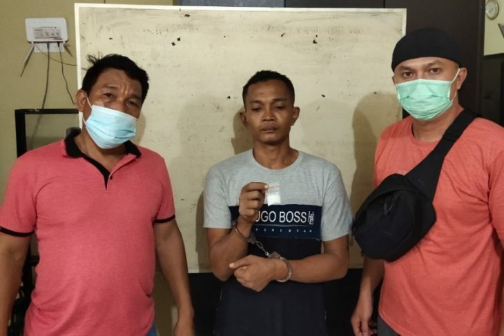 Polres Tanjung Balai amankan seorang warga miliki sabu