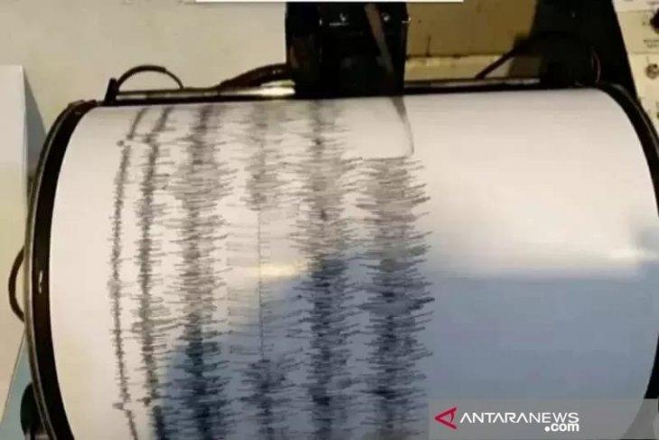Sepekan terakhir terdapat 11 kali gempa bumi di wilayah Sumbar
