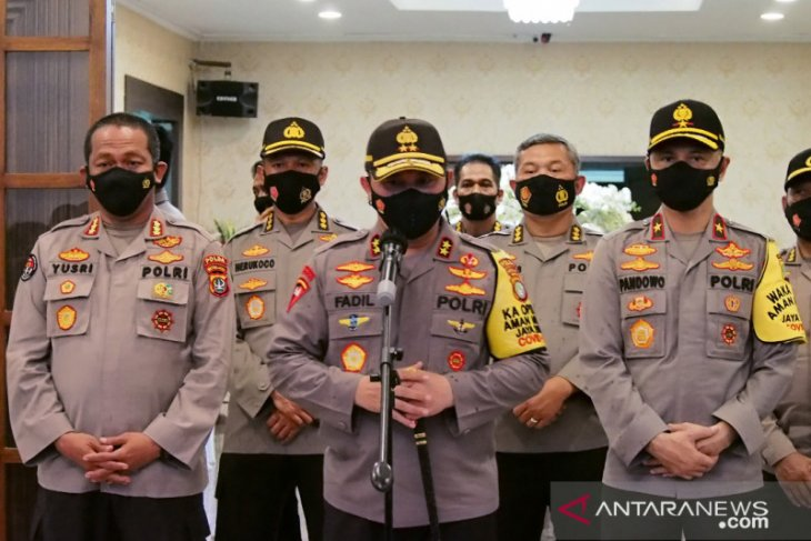 Kapolda Metro Jaya: Ada klaster COVID-19 di kawasan Petamburan