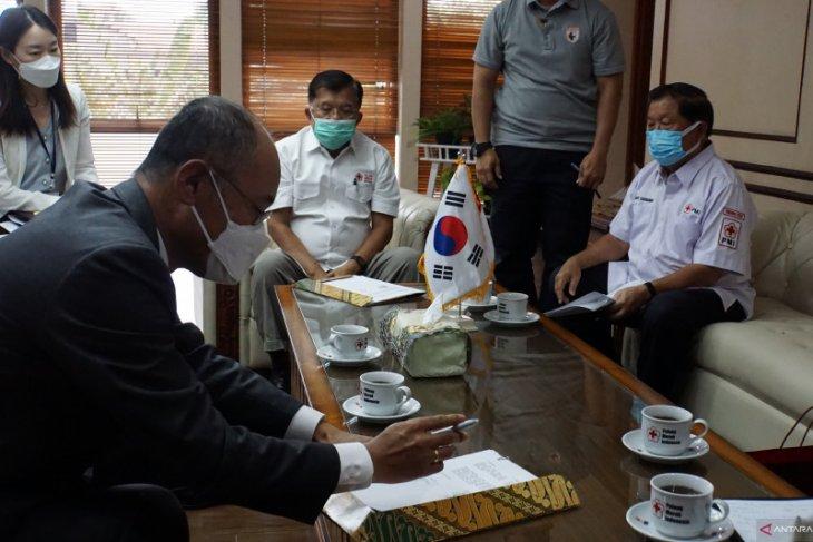 PMI-Koica kerja sama tanggulangi COVID-19 di Indonesia