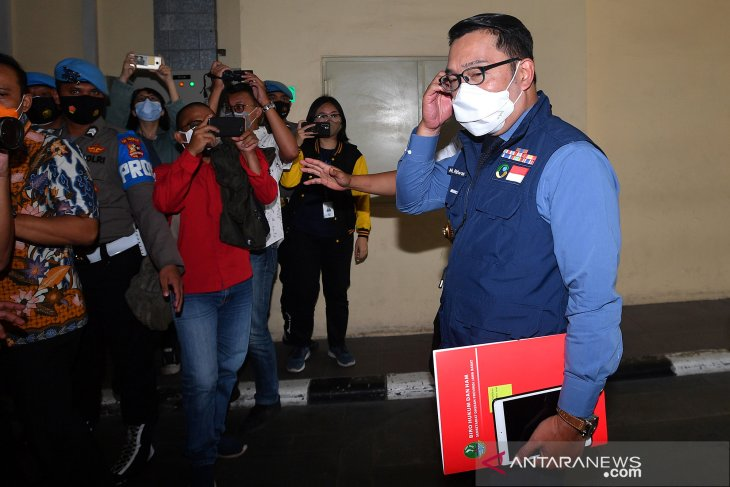 Ridwan Kamil penuhi panggilan Bareskrim Polri, terkait tabligh akbar FPI