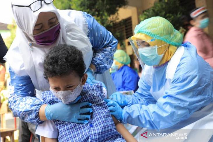 243 siswa SDN 1Tangerang ikuti imunisasi tetanus dan difteri