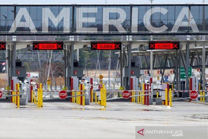 AS tutup perbatasan darat dengan Meksiko, Kanada, hingga 21 Juli