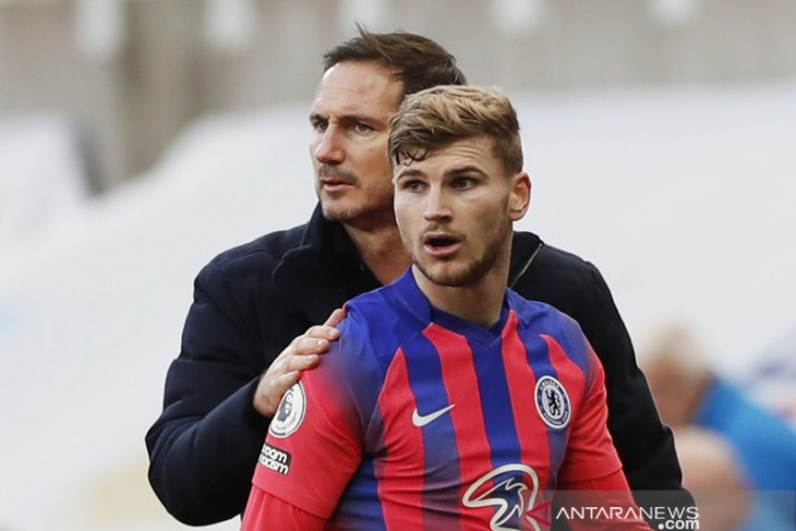 Lampard puji Timo Werner saat Chelsea kalahkan Newcastle