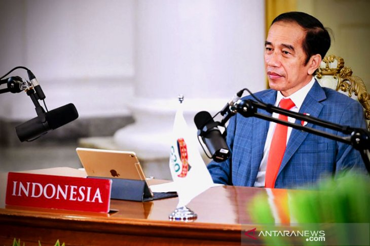 President Jokowi calls for equitable access to COVID-19 vaccines