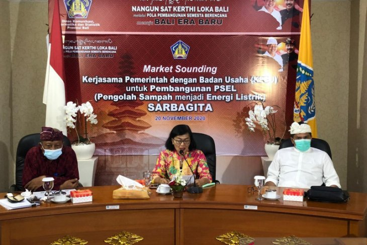 Sekda Bali apresiasi survei pengolahan sampah jadi listrik