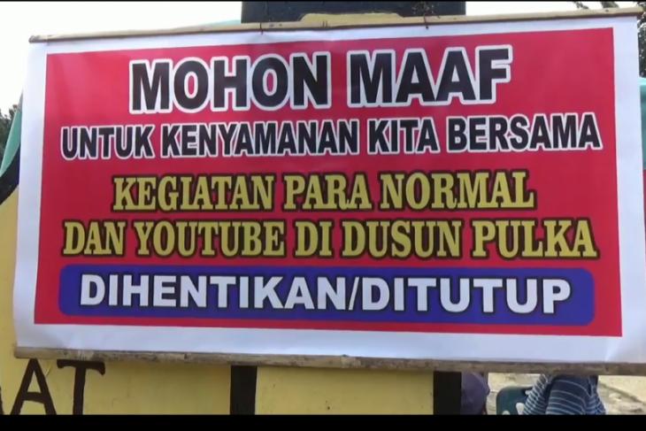 Dusun Pulka, Naman Jahe Salapian Langkat ditutup
