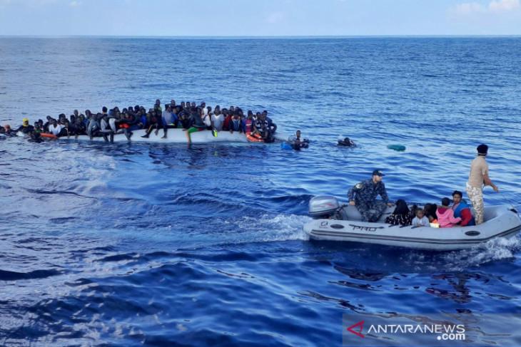 Ratusan imigran diselamatkan dari kapal kayu di lepas pantai Tunisia