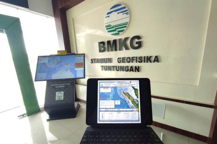 Sepekan terakhir terjadi 31 gempa di  Sumut dan Aceh