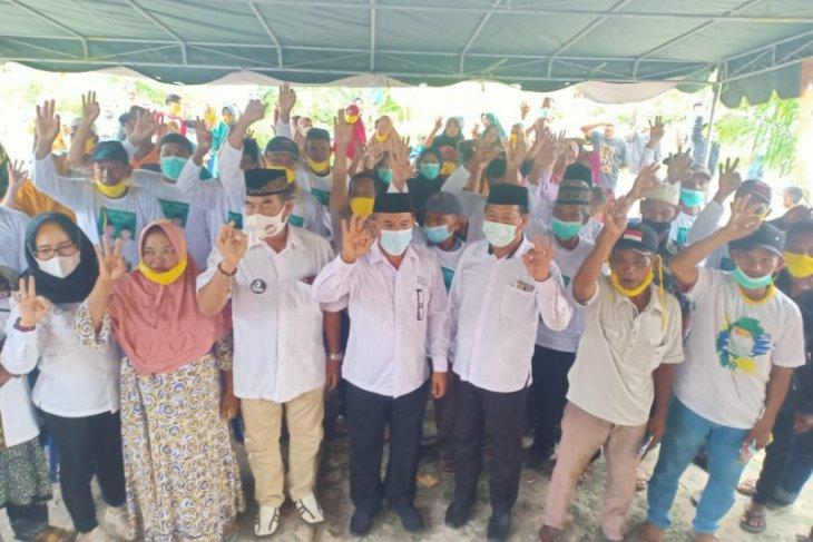 Warga Desa Manuntung antusias ikuti kampanye dialogis Cawabup Rusli