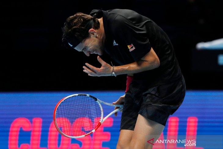 ATP Finals: Thiem kalahkan Djokovic untuk capai partai puncak