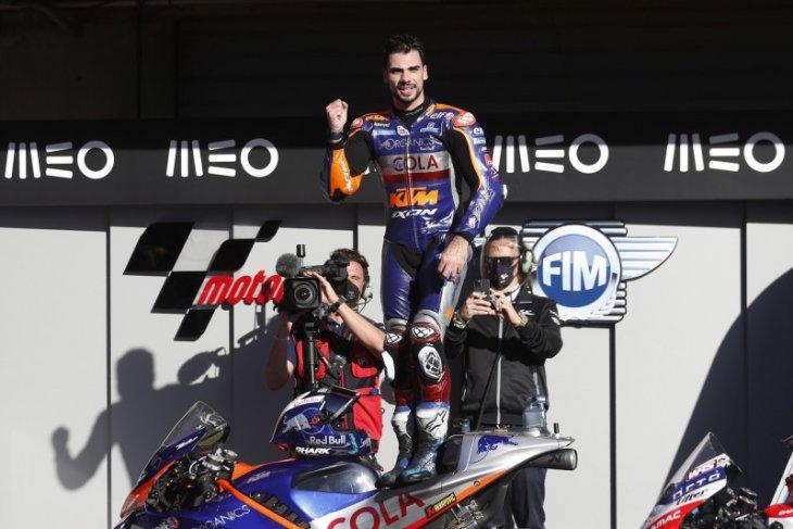 MotoGP: Oliveira tampil dominan juarai Grand Prix penutup musim di Portugal